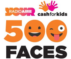 We are Face 29 of 500 for Radio Aire - Cash for Kids