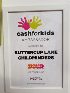 We are very proud supporters of Cash for Kids